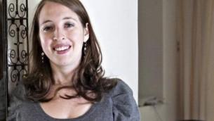 Le Dr Sara Hirschhorn, maître de conférence en études israéliennes au centre Oxford pour les études juives et hébraïques. (Crédit : autorisation)