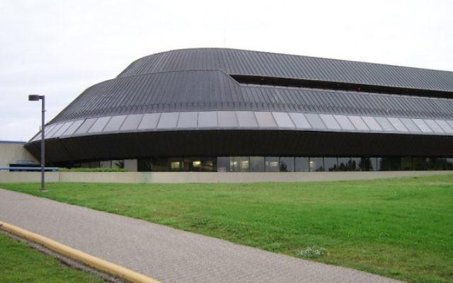 Le bâtiment Student Union à l'université de Lethbridge, dans la province d'Alberta, Canada (Crédits : JTA/Wikimedia Commons)