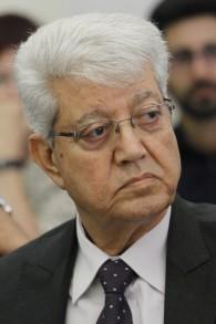 L'ancien ministre des Affaires étrangères David Levy, le 23 juillet 2013 (Crédit : Miriam Alster / Flash90)