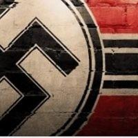 Une image utilisée par un groupe néo-nazi sur Facebook. Illustration. (Crédit : capture d'écran)
