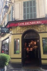 Le restaurant de Jo Goldenberg abrite maintenant un nouveau commerce. (Crédit : Lisa Klug/Times of Israel)