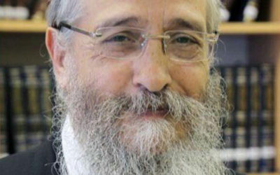 Le rabbin Menachem Mendel Deitsch. (Crédit: autorisation)