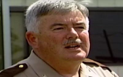 James Fitzgerald, shérif du comté de Howard, Maryland (Crédit : Capture d'écran YouTube)
