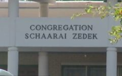 La congrégation Schaarai Zedek, dans le sud de Tampa, en Floride. (Crédit : capture d'écran)