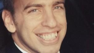 Le Maj. Ohad Cohen Nov, 34 ans, tué dans un accident d'avion, le 5 octobre 2016 (Crédit : Autorisation)