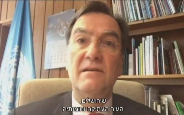 Michael Worbs (Crédit : capture d'écran Dixième chaîne)