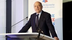 Alain Juppé, ancien Premier ministre français et maire de Bordeaux, à Paris, le 27 novembre 2016. (Crédit : François Guillot/AFP)
