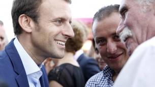 Emmanuel Macron (Crédit : Facebook)