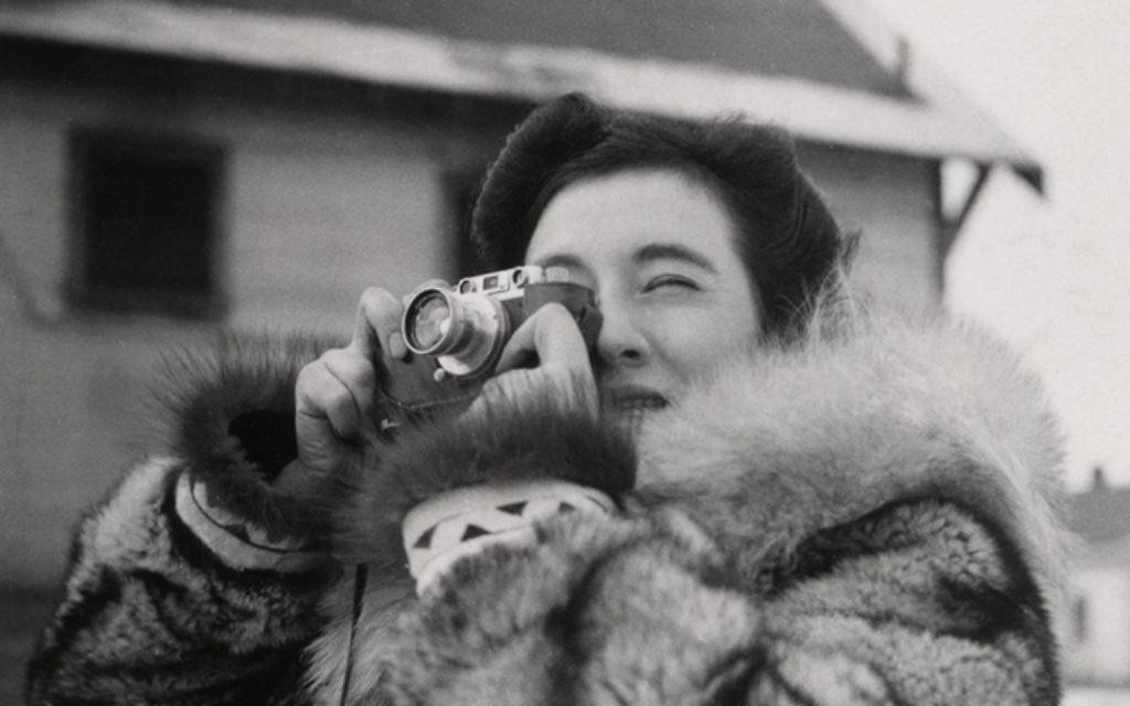 Ruth Gruber, en Alaska, en 1941-43 (Crédit : Photographe non identifié, autorisation)