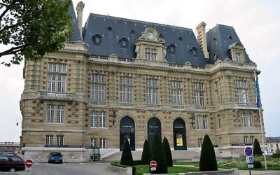 Vue sur la mairie de Versalles (Crédit : CC BY SA 3.0)