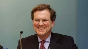 David Harris, directeur exécutif de l'AJC. (Crédit : Olivier Fitoussi/AJC)