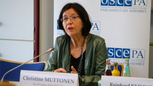 Christine Muttonen (Crédit : OSCE/Flicker)