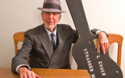 Leonard Cohen (Crédit : Facebook)