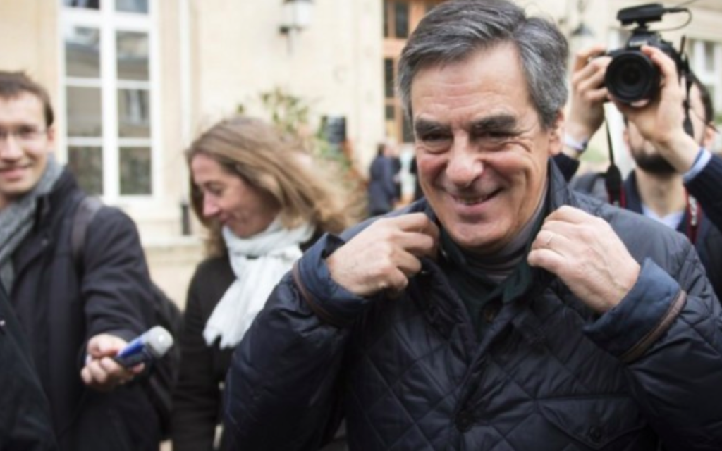 François fillon ami ou ennemi d israël the times of israël