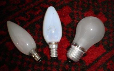 Illustration d'ampoules (Crédit : wikipedia)