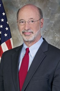 Tom Wolf, gouverneur de Pennsylvanie. (Crédit : CC BY/Governor Tom Wolf/Wikimedia)