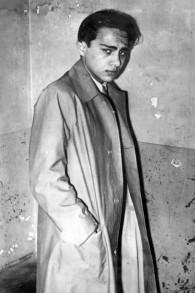 Herschel Grynszpan juste après son arrestation, le 7 novembre 1938. (Crédit : Bundesarchiv/Wikipedia)