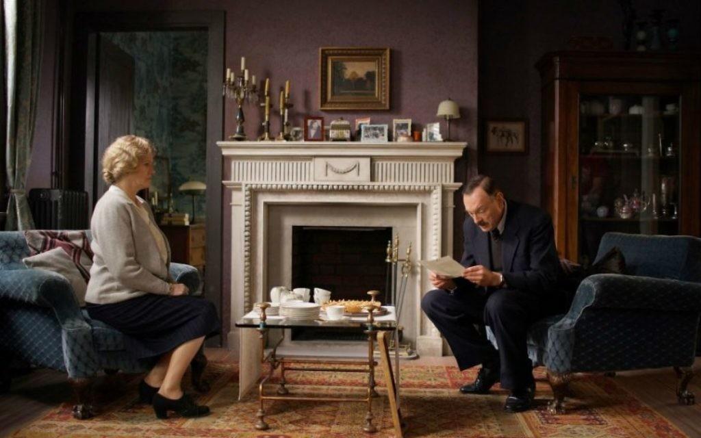 Barbara Sukowa (Friderike Zweig) et Josef Hader  (Stefan Zweig) dans 'Stefan Zweig' (Dor Film)