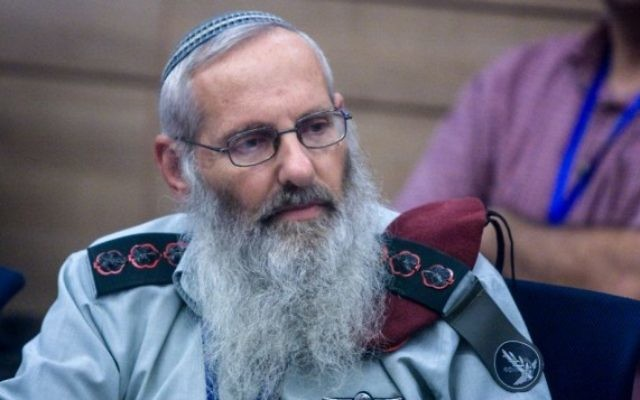 Le Rabbin Eyal Karim lors d'une réunion de la Commission de Contrôle de l'Etat le 13 septembre 2010 (Crédit : Lior Mizrahi/Flash90)