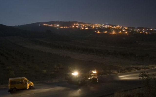 Image d'illustration : des réservistes de l'armée à proximité de Jénine  ( Crédit : Matanya Tausig / Flash 90)