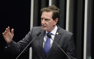 Marcelo Crivella, maire de Rio de Janeiro. (Crédit : Wikimedia Commons)