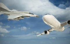 Le nouveau système anti-collision de l'IAI aide à alerter les pilotes de combat d'eventuelles collisions avec les avions civils (Courtesy)