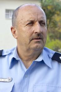 Vice-chef de l police, Jamal Hakrush, est le policier arabe le plus haut gradé de l'histoire de la police israélienne. (Crédits : Dov Lieber/Times of Israel)