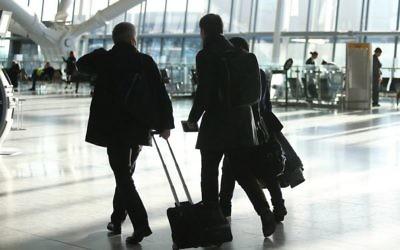 Des voyageurs de British Airways (Crédit : Autorisation)