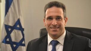 Eldad Hayet, ambassadeur d'Israël au Chili. (Crédit : autorisation)