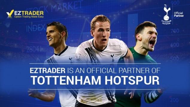 EZTD sponsorise le club de Tottenham Hotspur