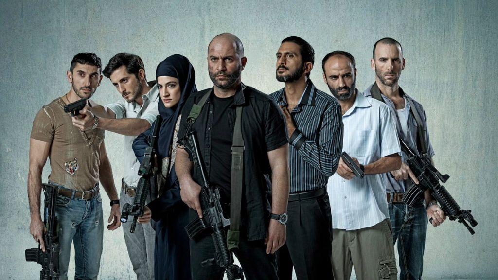 Le casting de 'Fauda', la série de YES sur des agents israéliens en Cisjordanie, co-créée par Avi Issacharoff, journaliste du Times of Israël (Crédit : Ohad Romano)