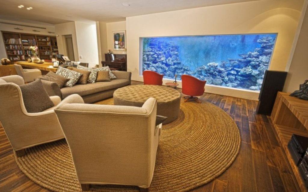 L'aquarium fini. (Crédit : autorisation/Eli's 10,000 Gallon Home Reef Aquarium)