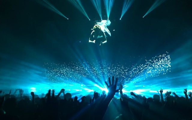 Les Chemical Brothers en concert (Crédit : The Chemical Brothers)