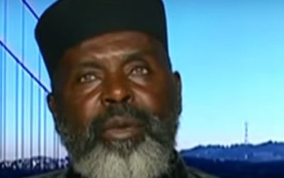 Imam Abdul Alim Musa (Crédit : capture d'écran Youtube)