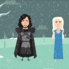 Yoni et Dani donnent des conseils pour affronter l'hiver dans cet hommage à Game of Thrones (Crédit : Capture d'écran Facebook)