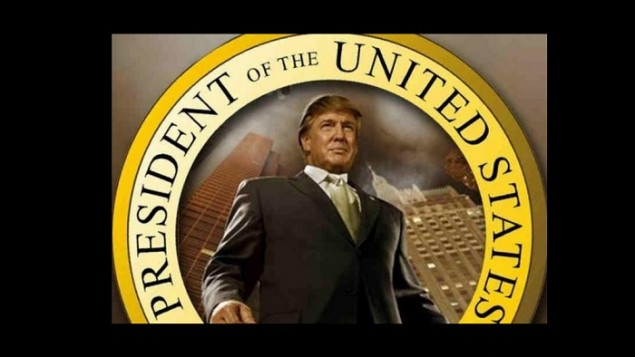 La page d'accueil du site internet du Ku Klux Klan célèbre la victoire de Donald Trump à l'élection présidentielle américaine, le 11 novembre 2016. (Crédit : capture d'écran)