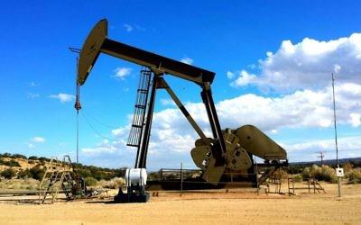 Un puits de pétrole. Illustration. (Crédit : domaine public)