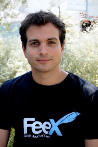 Yoav Zurel, PDG de FeeX (Crédit : Autorisation Sahar Rott)
