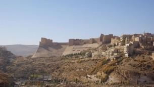 Citadelle de Karak, en Jordanie (Crédit : Berthold Werner/CC BY 3.0)