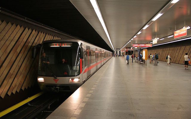 Le métro de Prague. Illustration. (Crédit : Wikimedia Commons)