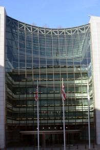 Les locaux de la SEC. (Crédit : D. Ramey Logan/CC BY 4.0/WikiCommons)