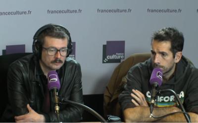 Luz et Jul sur France-Culture le 13 décembre 2016 (Crédit : capture d'écran)