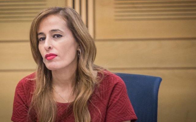Nava Boker, députée du Likud, le 14 juin 2016. (Crédit : Hadas Parush/Flash90)