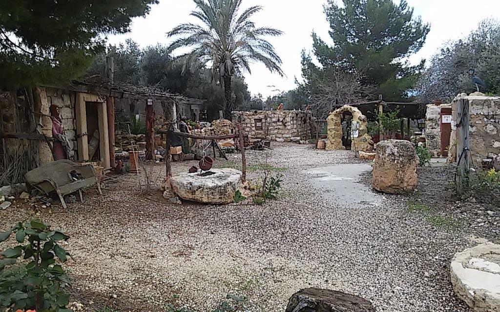 Les sites historiques du Village Hasmonéen. Illustration. (Crédit : autorisation)