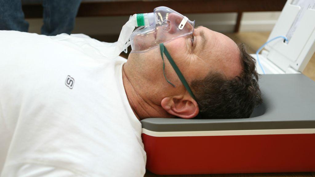 Le dispositif SALI d'InovyTec qui peut traiter les défaillances cardiaques et respiratoires sur place (Crédit : Autorisation)