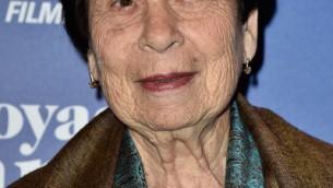 """Fanny Ben-Ami, auteur du """"Voyage de Fanny"""" et protagoniste du film du même nom (Crédit)"""