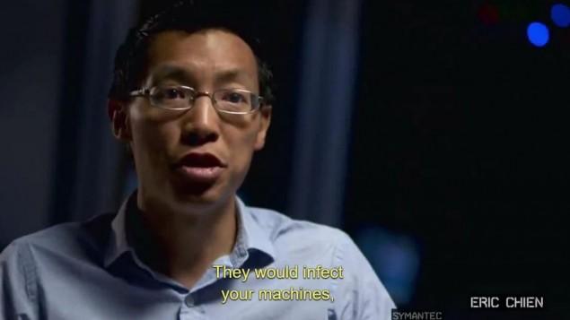 Eric Chien de Symantec (Crédit : capture d'écran Zero Days)