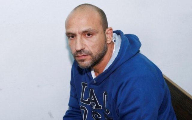 Yaakov Shimon durant une audience du tribunal à Jérusalem le 3 mai 2012  (Crédit :  Yonatan Sindel/Flash90)