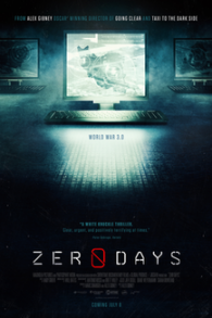 Affiche du documentaire Zero Days (Crédit : autorisation)