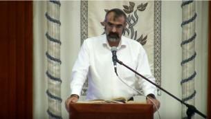 Dror Aryeh, de la Yeshiva Hesder de Sderot. (Capure d'écran :  /YeshivaGvohaaHesdear/YouTube)